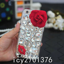Cute Bling Phone Cases Glitter Sparkly Rhinestone Jeweled Hard back Cover Case M