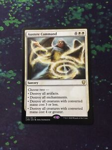 MTG, Austere Command. Commander Legends Rare NM