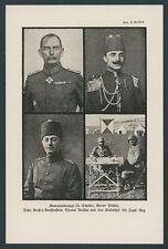 Asienkorps Palästina Dr. Steuber Kressenstein Osmanen Enver Pascha Jildirim 1918