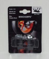 MINICHAMPS 1/12 SET DUE CAVALLETTI PLASTICA PER MOTO MODELLINO MOTOGP SBK 500cc