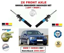 FOR BMW 1 Series E81 Hatchback 2006-2007 2X FRONT LEFT RIGHT SHOCK ABSORBERS SET