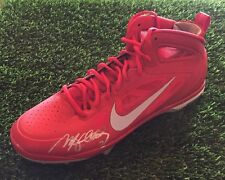 MATT HOLLIDAY SIGNED RED NIKE CARBON ELITE BASEBALL CLEAT JSA/COA M90337