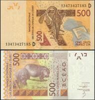 Mali 500 Francs. UNZ 2013 Banknote Kat# P.419Db