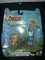 2011 SDCC Adventure Time Finn & Jake Collector's Pack Action Figures NWT NIB