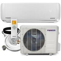 Pioneer 12,000 BTU 1 Ton 19 SEER Ductless Mini Split Air Conditioner Heat Pump