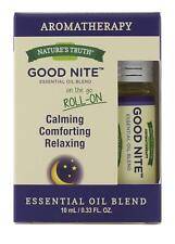 6 Pack Nature's Truth Good Nite Essential Oil Roll-On Blend, 0.34 Ounce each