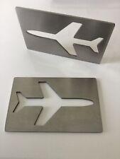 Plane Credit Card Bottle Opener