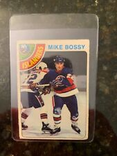 1978-79 O-PEE-CHEE Hockey #115 MIKE BOSSY ROOKIE.......Only $2.22 Night!