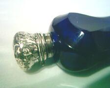 ANTIQUE COBALT BLUE PERFUME BOTTLE