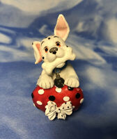 """Enesco Disney """"There's a Spot in My Heart For You"""" Dalmatian Dog Figurine 264784"""