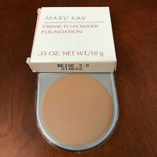 1 Mary Kay Cream Creme to Powder Foundation, D shaped, new in box, CHOOSE SHADE