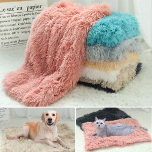 Warm Dog Cat Pet Mat Soft Plush Pet Blanket Comfy Sleeping Bed Cushion Indoor