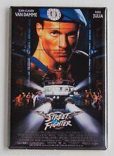 Street Fighter FRIDGE MAGNET (2.5 x 3.5 inches) movie poster van damme