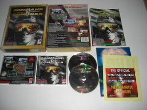 COMMAND & CONQUER 1 Pc Cd Rom C&C BIG BOX - FAST SECURE POST