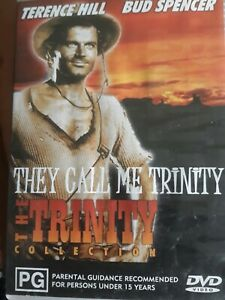They Call Me Trinity DVD Terence Hill Bud Spencer - All Regions NTSC Classic #L