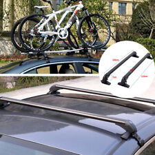 2x Car SUV Roof Top Rack Bar Luggage Rack Luggage Cross Bar Anti-theft Universal