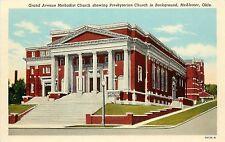 1915-30 Print Postcard; Grand Avenue Methodist Church McAlester OK Pittsburg Co