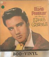 Elvis Presley King Creole LP Vinyl Record - RCA Victor SF8231 EX+ / EX CON