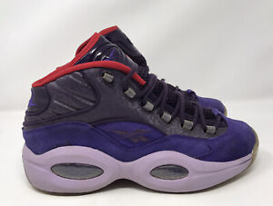 Reebok Question Mid Ghost Of Christmas Future Men's 9.5 Sneakers V61429 Iverson