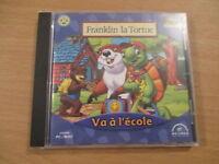 pc/mac cd-rom franklin la tortue va a l'ecole