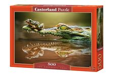 Castorland B-52318 Puzzle The Daredevil Frog Frosch Tiere Natur 500 Teile