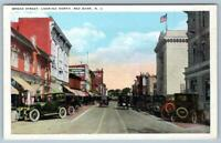 RED BANK NEW JERSEY*BROAD STREET LOOKING NORTH*UNION NEWS CO PUBL*POSTCARD