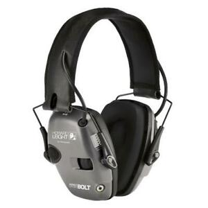 Howard Leight R02232 Impact Sport BOLT Electronic Earmuff  Gray