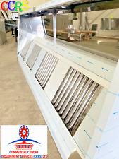 More details for ccrs ltd commercial kitchen stainless steel canopy