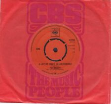 "Tony Bennett 1965 - 7"" Vinyl 45 RPM-I Left My Heart IN San Francisco / Candy Kis"