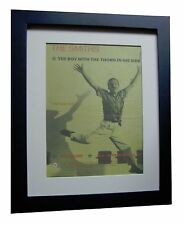 THE SMITHS+Boy With The Thorn+POSTER+AD+ORIGINAL+1985+FRAMED+EXPRESS GLOBAL SHIP