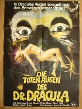 Mario Bava German 1-sh poster Kill, Baby. Kill ! Operazione Paura Italo Horror