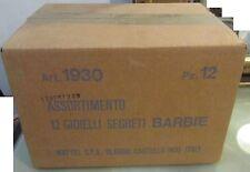 Barbie confezione originale 12 Gioielli Segreti Mattel 1930 Fondo Di Magazzino