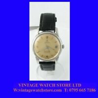 Mint Vintage Steel Omega SeaMaster Calendar Auto Gents Watch 1954