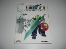 FINAL FANTASY VII 7 OFFICIAL Brady Games STRATEGY GUIDE BOOK Playstation PS1 PSX