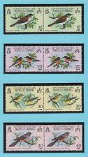 Nouvelles-Hébrides 8 timbres neufs 1979 série oiseaux /T327