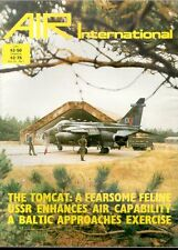 AIR INTERNATIONAL V22 N1 GRUMMAN F-14 TOMCAT VF USN / RAF EE CANBERRA / WW2 P-39