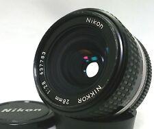 Nikon Nikkor Ai-S 28mm F2.8 [Near Mint] Camera Lens from Japan