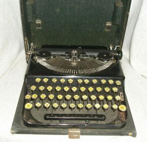 Rare 1929 Remington Portable 3 Manual Typewriter Original condition