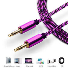 3.5mm Jack AUX Cable Audio Lead Headphone For Samsung Galaxy S8 S9 J8 J6