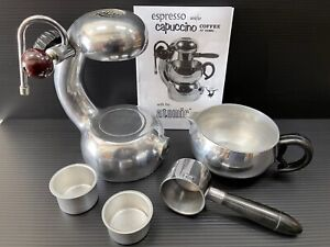 An Original Atomic Coffee Cappuccino Espresso Maker - This is the real deal!!