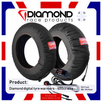 DIAMOND RACE PRODUCTS - NEW! DIGITAL SPEC TYRE WARMERS TO FIT 600cc - 190 REAR