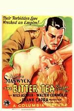 THE BITTER TEA OF GENERAL YEN Movie POSTER 11x17 German Barbara Stanwyck Nils