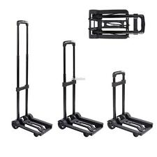 Folding Push Truck Trolley Luggage Flatbed Dolly Cart Hand Collapsible Truck