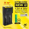 2x Samsung 18650 25R 2500mah Rechargeable li-ion battery + Nitecore i2 Charger
