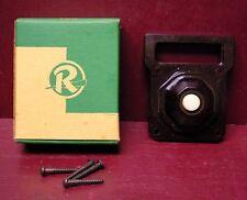 1 NOS W/BOX VINTAGE RODALE BAKELITE DOORBELL BUTTON 1940s-1960s #1