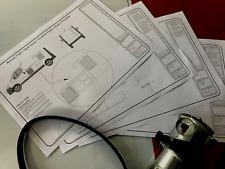 Camper Conversion Furniture Plans - Trafic, Vivaro, Primastar