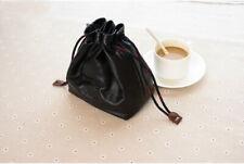 Handmade Goatskin Leather Case Bag for Leica M10 M9 M240 Q QP Q2 Camera Black