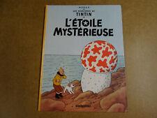 BD HERGE / LES AVENTURES DE TINTIN - L'ETOILE MYSTERIEUSE