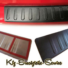 VW Passat B7 SW Variant 365 Ladekantenschutz mit Abkantung 3D Carbon Design