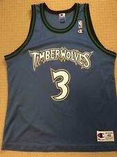 Vintage NBA Champion Minnesota Timberwolves Stephon Marbury basketball jersey